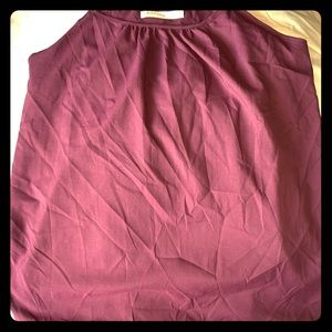 Faded Glory Plum Spaghetti tank top